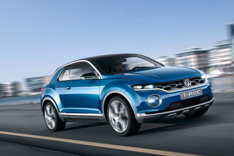 VW-Studie T-ROC