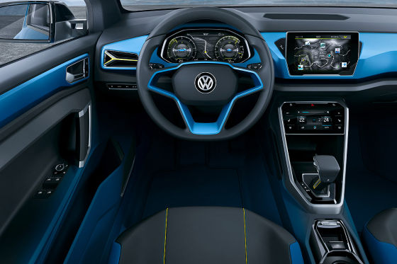 VW-Studie T-Roc (Genf 2014)