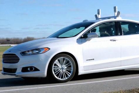 Ford Fusion: Erstmals öffentlich autonom gefahren