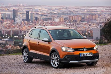 VW CrossPolo: Genfer Autosalon 2014