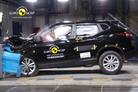 Euro NCAP Crashtest Fbruar 2014 Nissan Qashqai