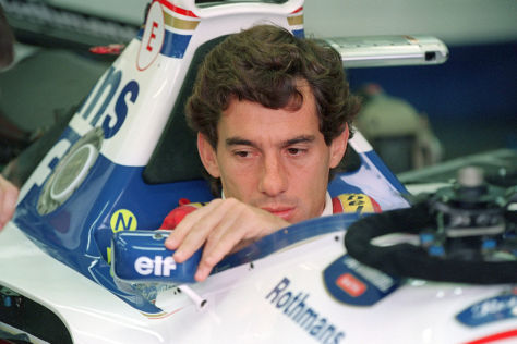 Der McLaren-Honda MP4/4 von Ayrton Senna kehrt nach Imola zurück