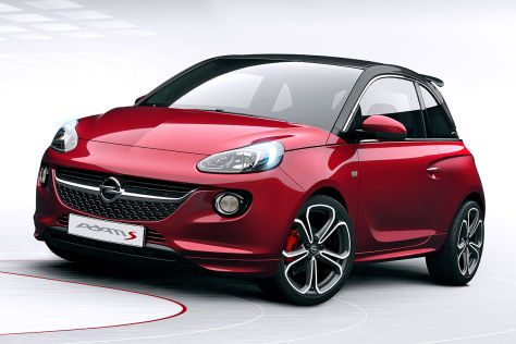 opel adam s genfer autosalon 2014. Black Bedroom Furniture Sets. Home Design Ideas