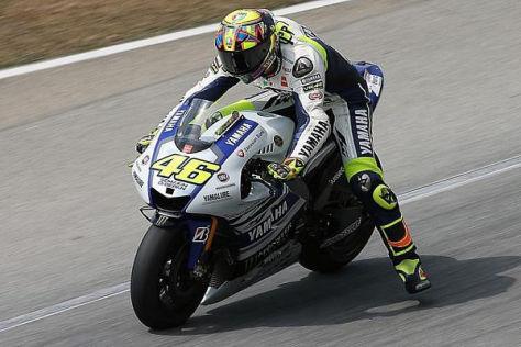 Valentino Rossi macht sich aufgrund der Reifen große Sorgen