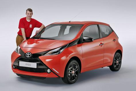 Sitzprobe Toyota Aygo (2014)