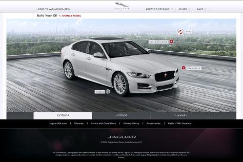 Jaguar XE: Genfer Autosalon 2014