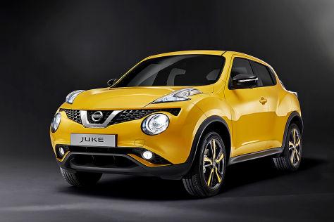 Nissan Juke Facelift: Genf 2014