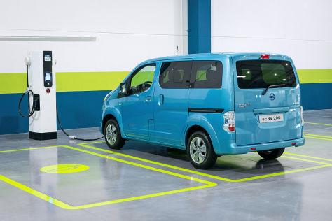 Nissan e-NV200: Genfer Autosalon 2014