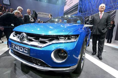Genfer Autosalon 2014: Volkswagen-Konzernabend