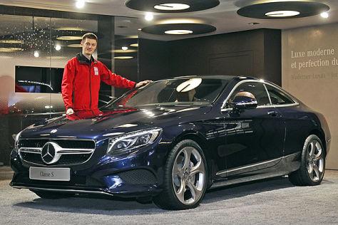 Mercedes S-Klasse Coupé Genf 2014: Sitzprobe