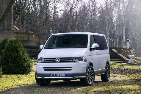 VW Multivan Alltrack: Genf 2014