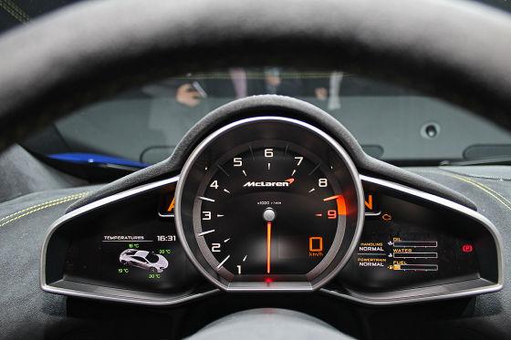 McLaren 650S Drehzahlmesser