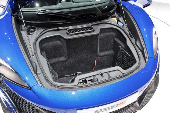 McLaren 650S Kofferraum