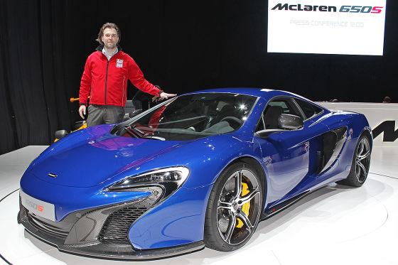 McLaren 650S: Supersportler