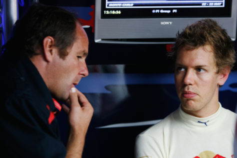 Berger & Vettel