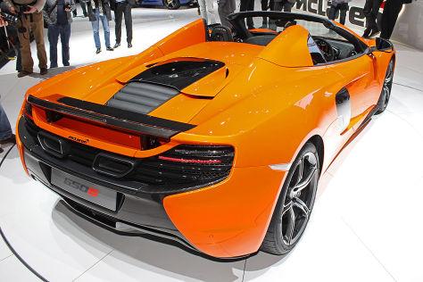 McLaren 650S Spider: Genfer Autosalon 2014