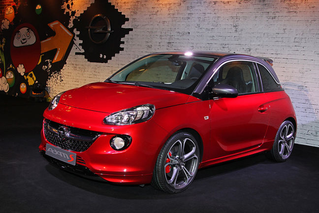 video opel adam s genf 2014. Black Bedroom Furniture Sets. Home Design Ideas