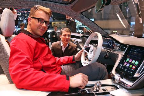 Sitzprobe Volvo Estate Concept