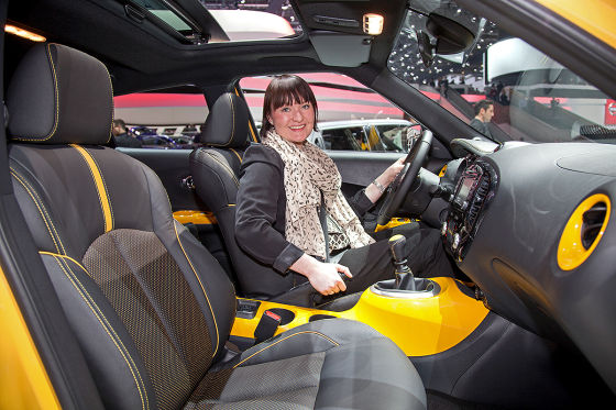 Nissan Juke Facelift: Sitzprobe