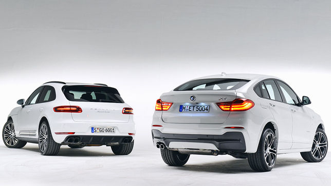 Video Porsche Macan Vs Bmw X4 Autobild De