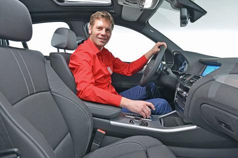 BMW X4 (2014): Sitzprobe