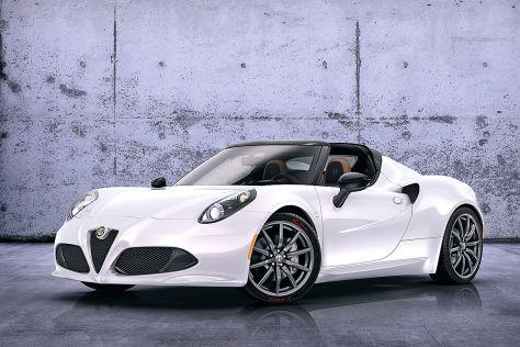 Alfa Romeo 4C Spider Studie: Genf 2014