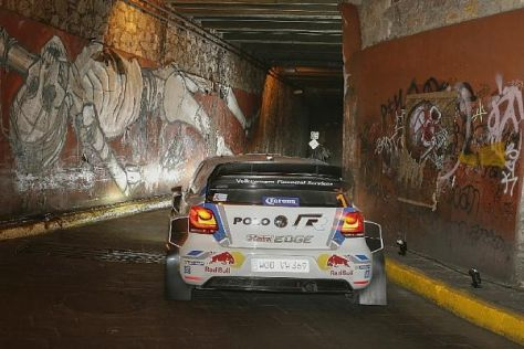 Weltmeister Sebastien Ogier gewann die erste WP der Rallye Mexiko