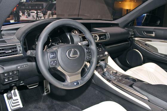 Exklusiv! Sitzprobe im Lexus RC F