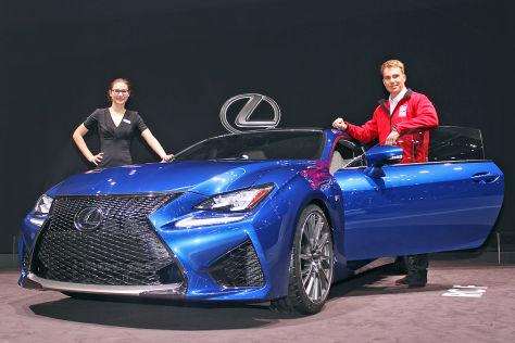 Lexus RC F (Genf 2014): Sitzprobe