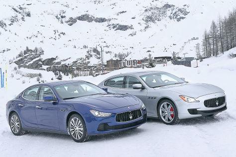 Fahrbericht Maserati Ghibli und Quattroporte Q4