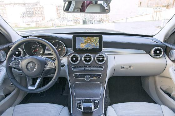 Mercedes c klasse 2014 erster fahrbericht for Interieur gegenteil
