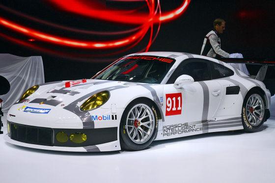 Porsche 911 RSR Genf 2014