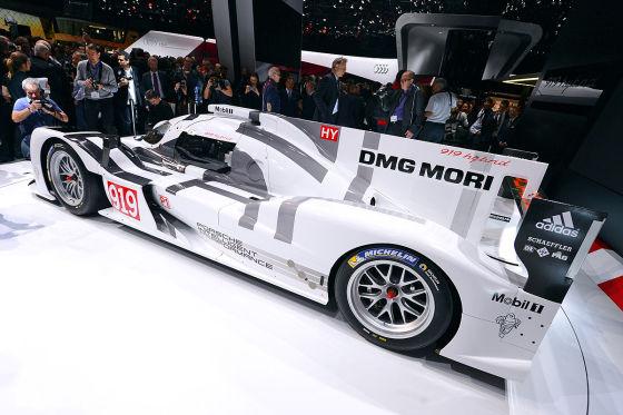 Porsche 919 Hybrid Genf 2014