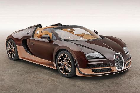 Bugatti Veyron: Genfer Autosalon 2014