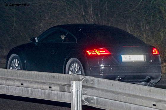 Audi TT Erlkönig