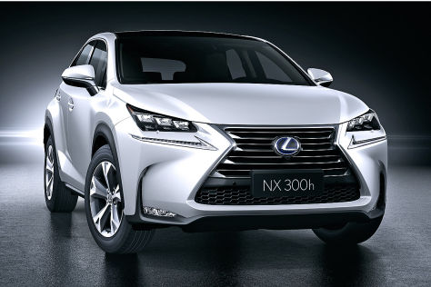 Lexus LF-NX Turbo Concept: Tokyo Motor Show 2013