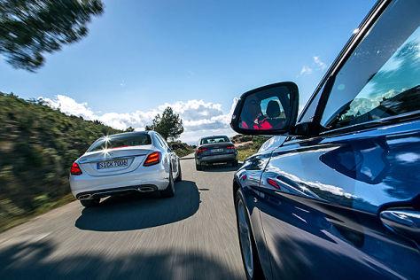 Audi A4 BMW 3er Mercedes C-Klasse