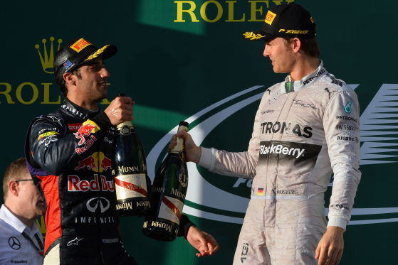 Ricciardo & Rosberg