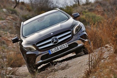 Mercedes GLA-Werbespot verboten