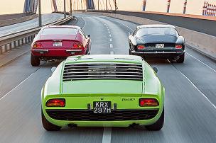 Sportwagen-Jetset der 60er