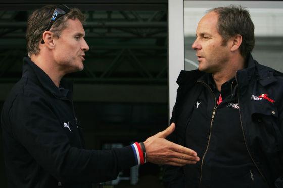 David Coulthard und Gerhard Berger