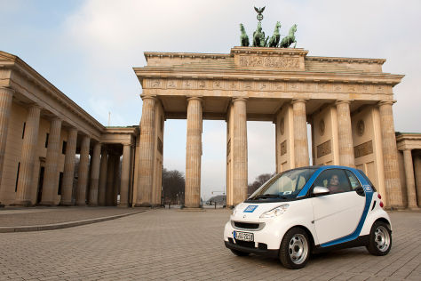 Car2go in Berlin