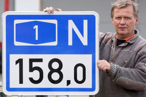 Hamburg testet neue Autobahnschilder
