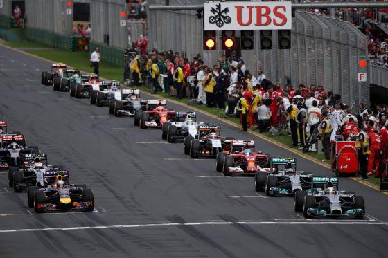 F1 Feld 2014