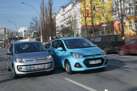 Hyundai i10 VW Up