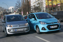 Hyundai i10 besiegt den VW Up