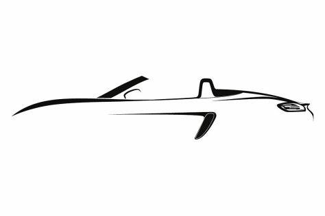 Porsche Cayman Schriftzug