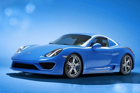 Studiotorino Moncenisio auf Basis des Porsche Cayman S