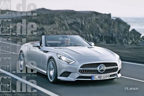 Neuer Mercedes SL und SLK
