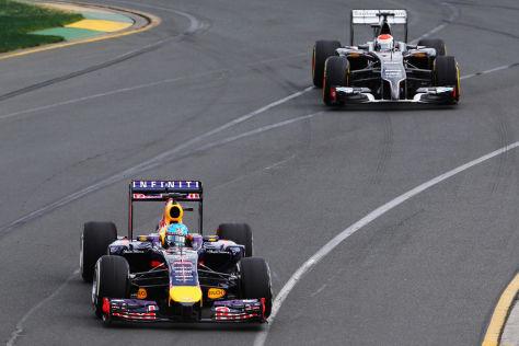 Sebastian Vettel & Adrian Sutil